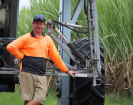 Grower Aims to reduce fertiliser rate by 30%