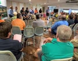 Mill mud and phosphorus forums gather in Tully